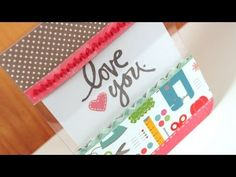 Clear acrylic card: Friday Focus – Patterned Paper #3  by Kristina Werner on September 30, 2011 - video