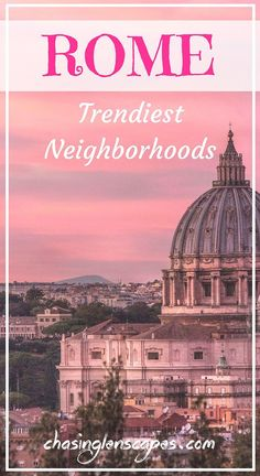 If you want to find more about Rome's hippest neighborhoods and learn about new attractions, the best restaurants and coffee shops and more, check out our post. #Rome #Italy #Travelitaly #EuropeTavel#FoodieTravel #TravelGuides #ItalyTravelTips