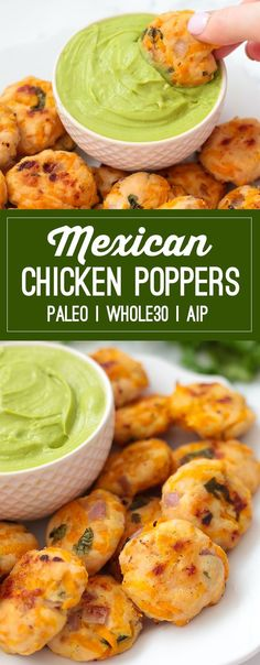 Mexican Sweet Potato Chicken Poppers (Paleo, Whole30, AIP)