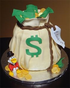 121 Best Money Cake Images
