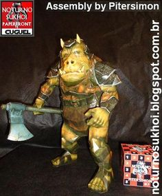 Star Wars - Gamorrean Guard Paper Model - by Noturno Sukhoi -- More one for Star Wars fans: the Gamorrean Guard, created by Noturno Sukhoi.