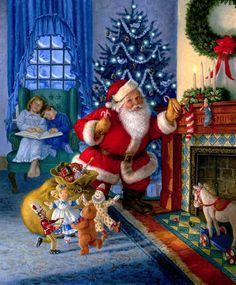 Sanderson, Ruth (b,1951)- Santa's Magical Toys