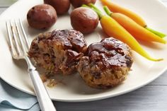 Tasty and easy to make. Used sodium reduced stuffing mix and only used bbq sauce, no brown sugar. Ground Meat Recipes, Beef Recipes, Healthy Recipes, Easy Recipes, Dinner Recipes, Kraft Recipes, Sauce Barbecue, Bbq, Recipes