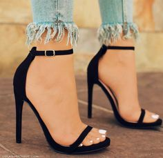 You can buy these heels on website: http://www.lolashoetique.com/new-arrivals #heels #black #elegant
