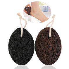 2pcs Earth Lava Stone Foot Massage