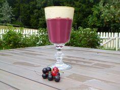 Økologisk rødvinsgele, en tradisjonell dessert til fest