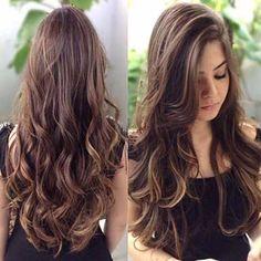 cabelo longo repicado em v