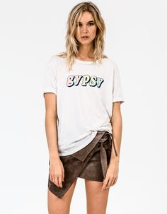 Mother 'Gypsy' Oversized Tee
