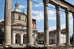 Milano - Piazza San Lorenzo Maggiore
