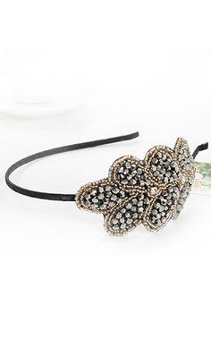 27101 Korean hair accessories crystal hair hoop