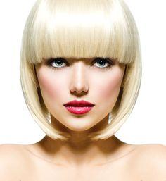 Bangin Blonde Smooth Blonde Platinum Look with Bangs