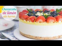 Cheesecake o Pay de Limón   Postre sin horno   Quiero Cupcakes! - YouTube