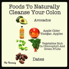 Foods to Naturally Cleanse Your Colon~
