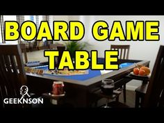 Board Game Table - YouTube