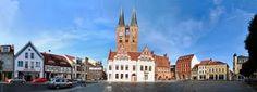 Stendal~Germany, Market place