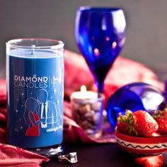 Diamond Candles - a ring in every one.