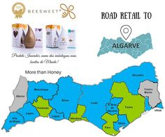 Beesweet presents the Road Retail to Algarve! - Beesweet