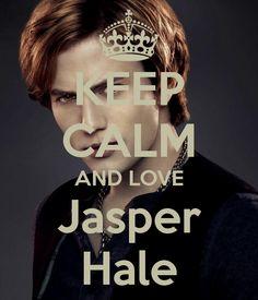 Keep calm and love Jasper Hale Jasper Twilight, Twilight New Moon, Twilight Movie, Twilight Saga, Twilight Quotes, Twilight Pictures, The Cullen, Bella Cullen, Foto Meme