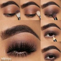 Makeup for Brown Eyes Step by Step picture 5