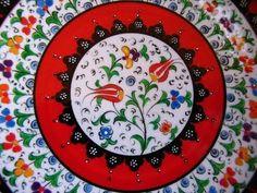 designs of Chemist turned ceramist NimetVarli from Istanbul's own artist of the year in Turkish pottery design.