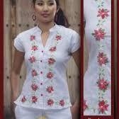 Resultado de imagen para vestidos bordados de cartago