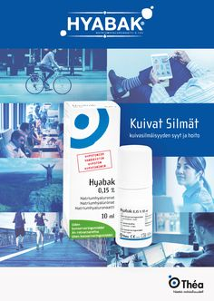 Poster for Hyabak - Preservative-free dry eye drops