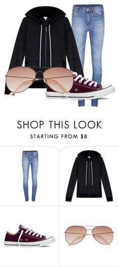 """Marvel's ""I'm Just a Civilian"" Starter Kit"" by princess-accitia on Polyvore featuring Cheap Monday, Splendid, Converse, women's clothing, women, female, woman, misses and juniors"
