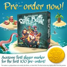Rattle, Battle, Grab the Loot preorders
