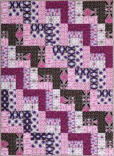 Calypso Swing Free Quilt Pattern