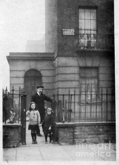 A house in Camden Street London, taken nearly a century ago