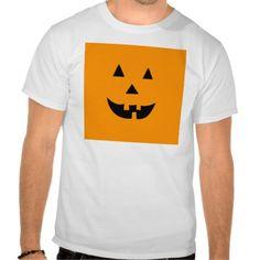 Halloween Jack O Lantern Tee Shirts