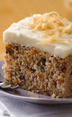 Betty Crocker's Gluten Free yellow cake mix makes this easy GF carrot cake super simple and delicious. Betty member Mika128 commented that her husband said this was better than any other carrot cake he has ever had, and many Celiac members have mentioned that it's the first good cake they've had since going off gluten!