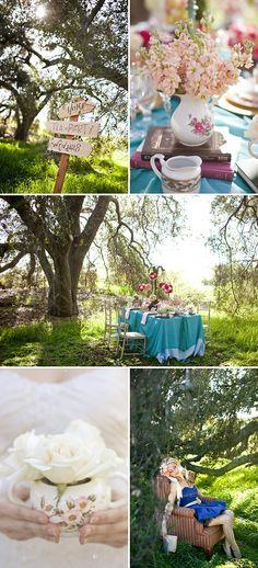 #alice in wonderland #wedding