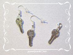 c018 KEY, (wanna buy something like this? Earrings, (Earhooks) or Charms? ask me: Mondcatze@fantasymail.de)