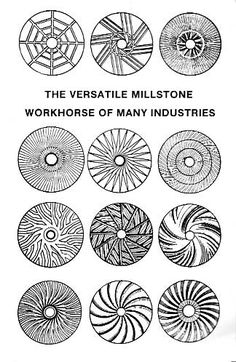 Millstones- I am interested in Mills, especially working historic mills still left in the world