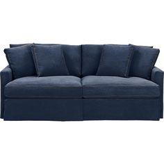 Cindy Crawford Home Beachside Blue Denim Sofa In 2018 Alex New Playroom Pinterest And