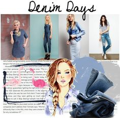 Monday Mood Board {Denim} #moodboard #denimdays #denim #style inspiration - full look here: http://blog.styleshack.com/monday-mood-board-denim/ #styleshack #summer #stylenotes