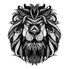 this would make a rad tattoo on my other shoulder. someday. #lion