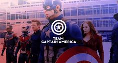"""I support Team Cap and I'm on it. But I'm also mainly Team """" FOR THE LOVE OF GOD DON'T  HURT BUCKY!!"""