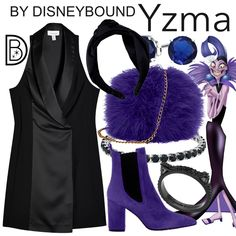 DisneyBound is meant to be inspiration for you to pull together your own outfits which work for your body and wallet whether from your closet or local mall. As to Disney artwork/properties: ©Disney Disney Inspired Fashion, Character Inspired Outfits, Emperors New Groove, Disney Artwork, Engagement Photo Outfits, Engagement Photos, Fandom Fashion, Vintage Gowns, Dress Rings