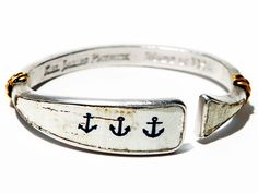 Oar Bangles: Anchored American