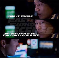 The Fast & The Furious: Tokyo Drift [The whole movie should have been just Sean and Han] Its how your all supposed to live it's more fun. Fast And Furious, The Furious, Movies Showing, Movies And Tv Shows, Tokyo Drift, Sung Kang, Dominic Toretto, Furious Movie, Tyler Durden
