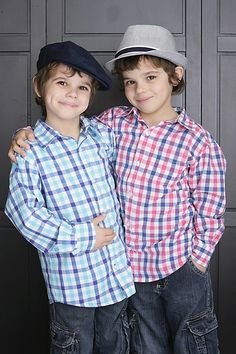 Aaron & Griffin Kunitz ; they both play Johnny? i didn't know that :P i didn't even know he had a twin! :O they're both so cute though aww! :D <3