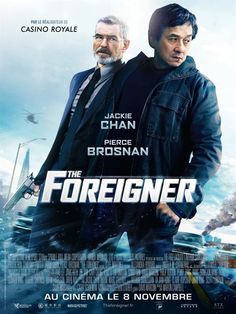 Trailers, clips, featurette, images and posters for the action thriller THE FOREIGNER starring Jackie Chan and Pierce Brosnan. Streaming Movies, Hd Movies, Film Movie, Movies Online, Pierce Brosnan, New Movie Posters, Original Movie Posters, Casino Royale, Jackie Chan Movies