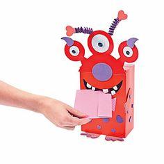 Monster Valentine Card Holder Craft Kit - Oriental Trading
