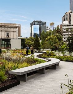 rooftop public garden, australia garden From Small Garden To Civic Spaces, These AreThe Best In The Business. Landscape Architecture Design, Urban Architecture, Landscape Architects, Architecture Awards, Park Landscape, Urban Landscape, Rooftop Design, Urban Park, Parking Design