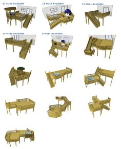 Deck Plans - for when we work on the yard this summer! Can't wait to have a deck!