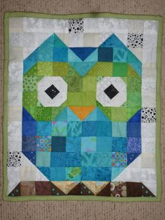 Custom Wise Little Owl Wallhanging by SweetbeeNCoCreations on Etsy, $40.00