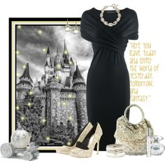 Favorite Place 1: Disneyland! by tacciani on Polyvore featuring мода, Donna…