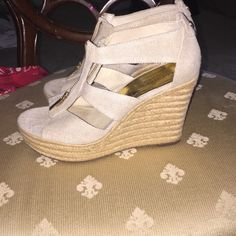 Davida Michael Kors wedges Cute and trendy, good condition. Michael Kors Shoes Wedges